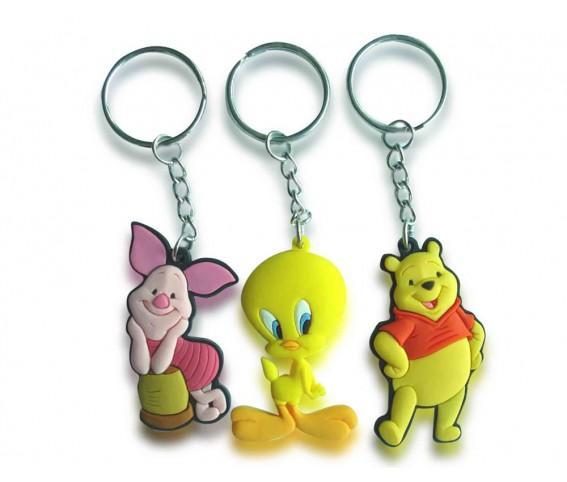 Soft PVC Custom Keychain