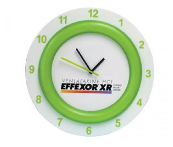 13 inches wall clock
