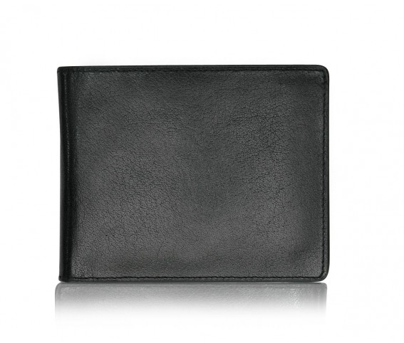 100 % Genuine Leather Wallet/Purse for Men Black