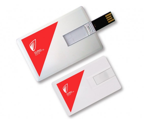 Credit Card Shape USB Flash Drive with Logo Printing