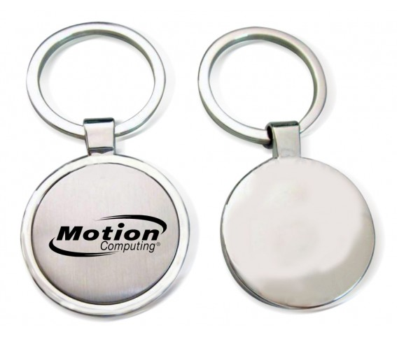 Metal Round Keyring with Printing
