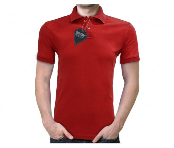 Savoy Elegance Dry N Comfort Polo Shirt - Red