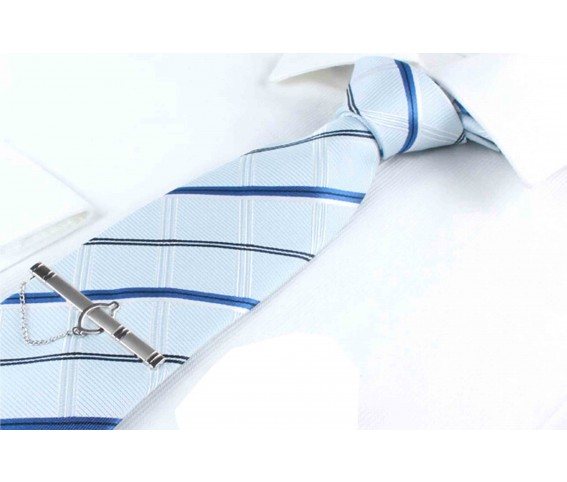 Neck Tie Blue Color with Stripes