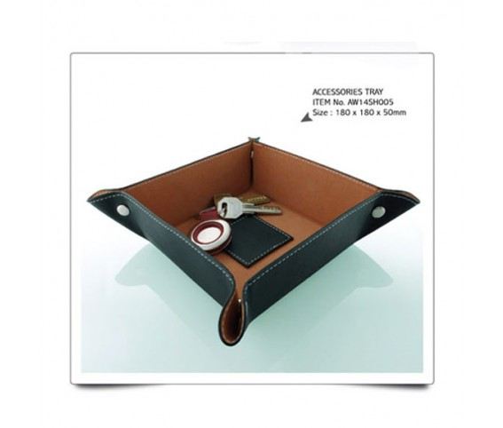 Accessories Tray Pu Leather