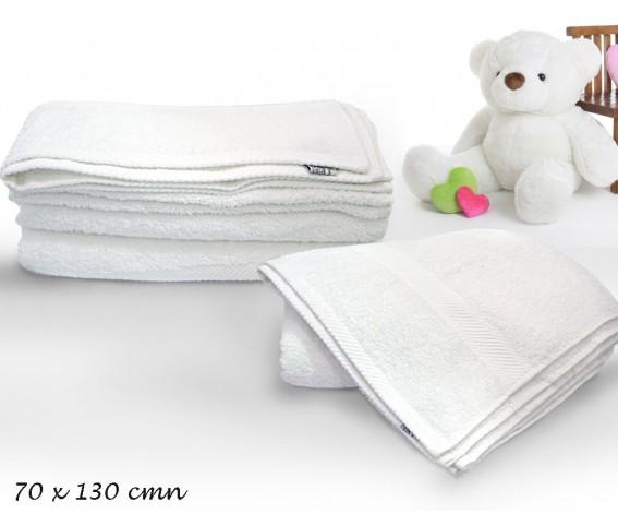 Bath Soft Towel White Color
