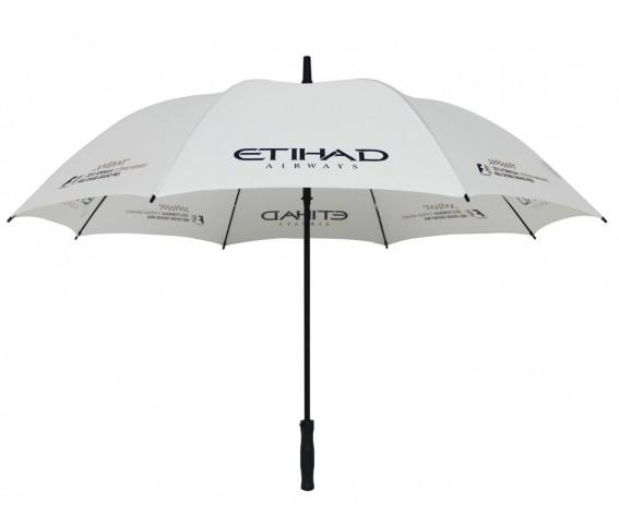 Golf Umbrella Etihad White