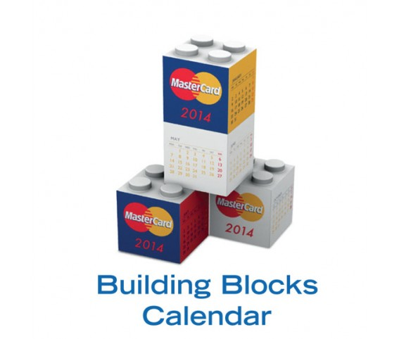 BUILDING BLOCKS CALENDER CUBE