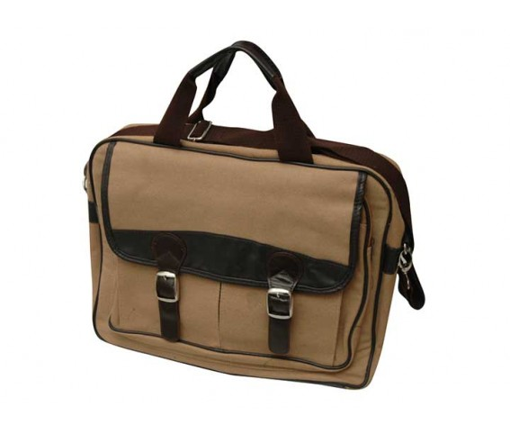 Echo friendly Canvas Laptop Bag