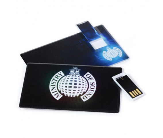 Card Slider USB Flash Drive