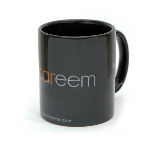 Coffee Mug Ceramic Black with Logo Printing