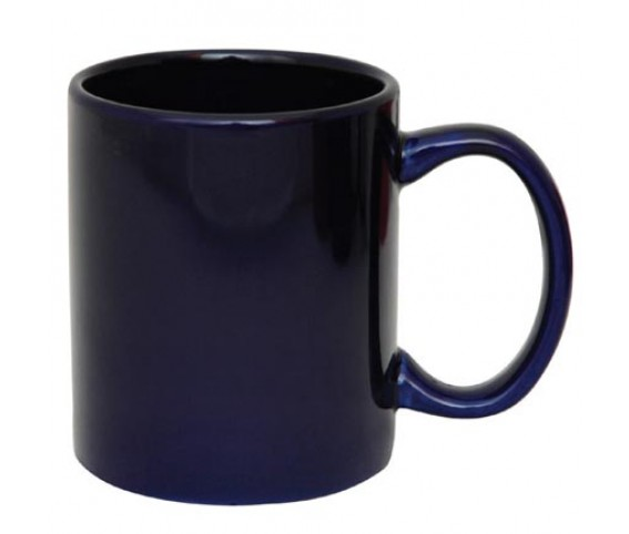 Coffee Mug Ceramic Dark Blue