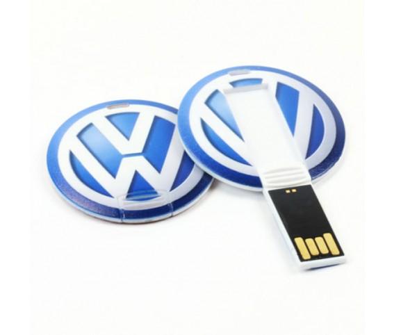 Flip Round  Mini USB Flash Drive
