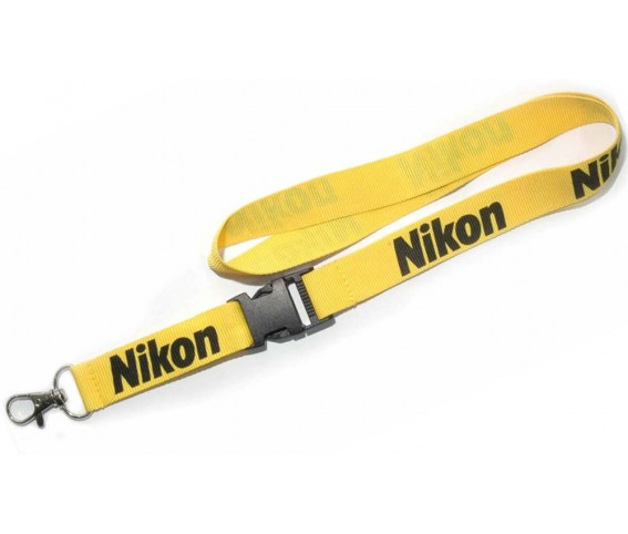 Lanyard with Double Layer Yellow