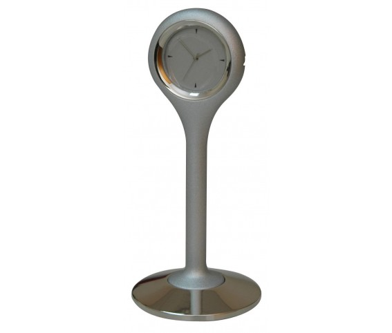 Paper Weight Clock - Black