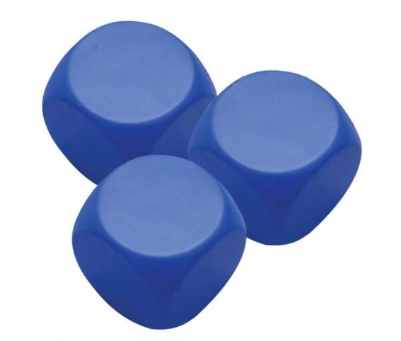 Pu Stress Ball - Blue Square