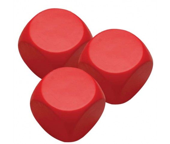 Pu Stress Ball - Red Square