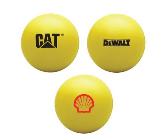 PU Stress Ball Yellow