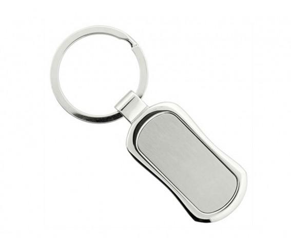 Metal Square Keychain