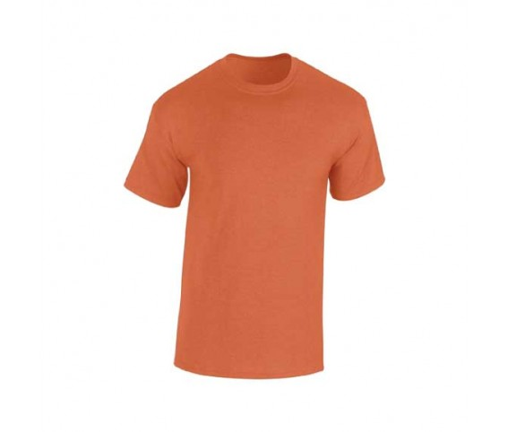Round Neck T-Shirt-Orange