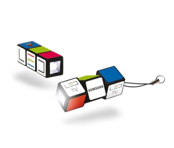 Rubiks Cube LED Flash Light