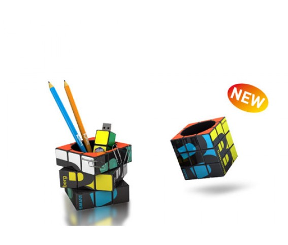 Rubiks Cube Pen Holder
