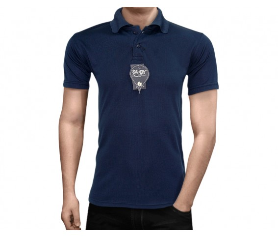 Savoy Passion Polo Shirt Cool n Comfort Navy Blue