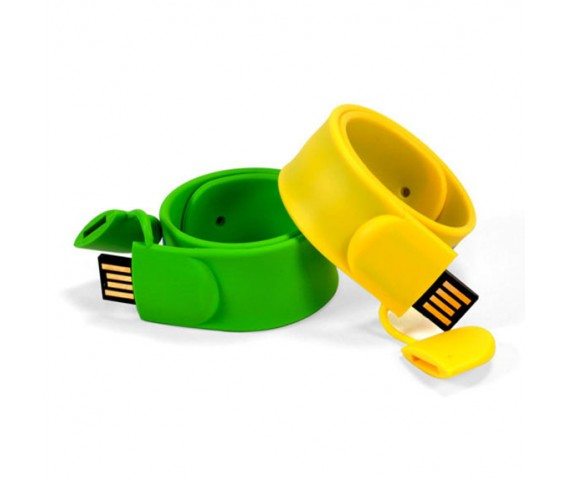 Silicone Snap Band USB Flash Drive