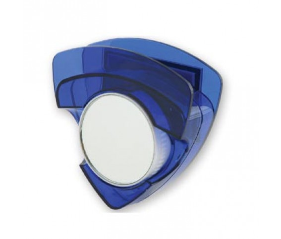 Stethoscope holder with 2 side mirrors (rubber magnet backin