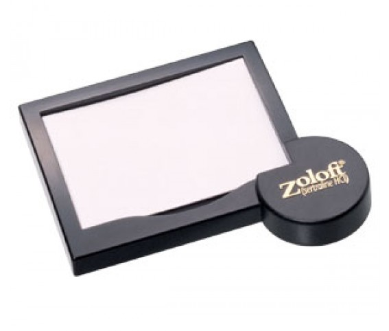 Zoloft post-it pad holder