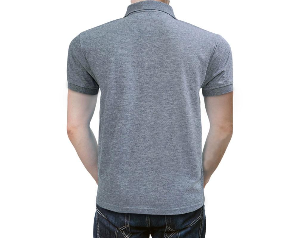 Savoy Polo Shirt Dry N Comfort Royal Gray Santhome Dry N Cool