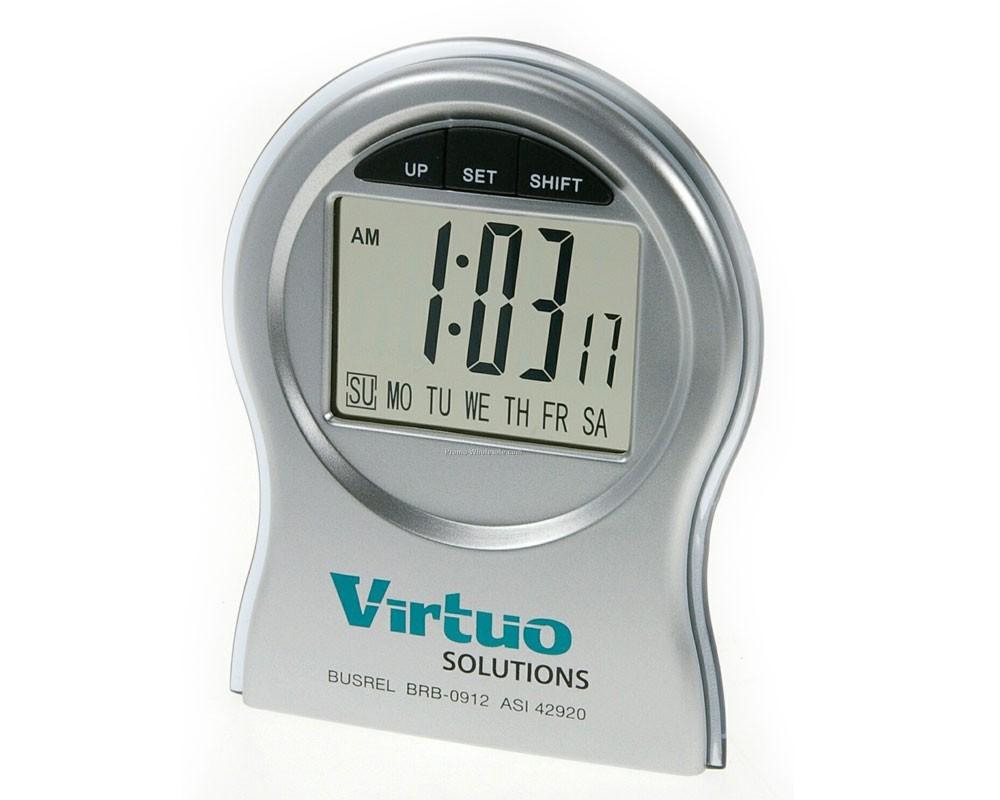 Digital Desk Clock With Multifunction Chrono Style