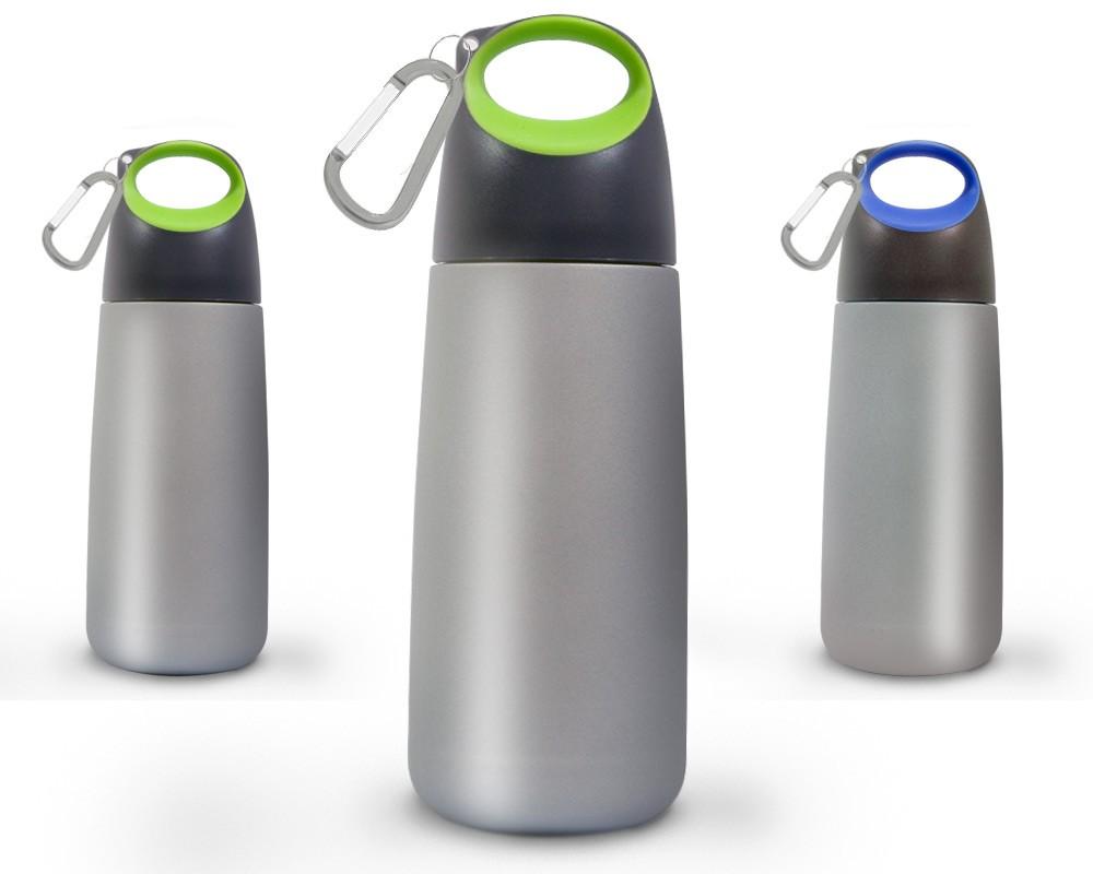 XD Design Bopp Mini Water Bottle with Carabiner | Metal