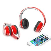 Mobile Headphone Red Color with Stereo Sound