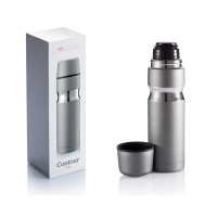 XD Design Contour Flask Eco Friendly First Class Cup 500 ml Sliver