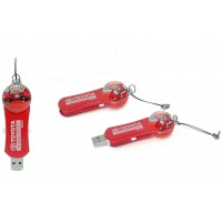 Customize Slide USB with Liquid Ball with Logo printing