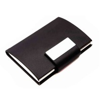 Business Card Holder with Metal Engravable