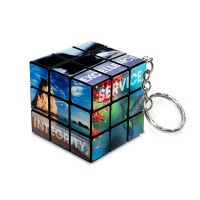 Rubik's cube Keychain 3x3