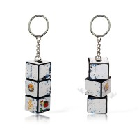 Rubik's Cube Keyring with Full Color Printing