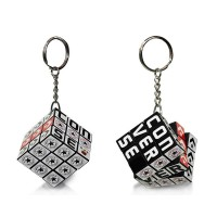 Mini Rubik's Cube Keychain 3X3