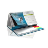 Luxury Desk Calender 2016 Foldable