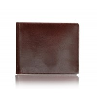 Dark Brown Pure Leather Wallet for Men