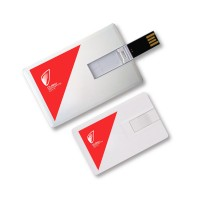 Credit Card Shape USB Flash Drive with Logo Printing