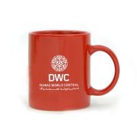 Coffee Mug Ceramic Full Red Color