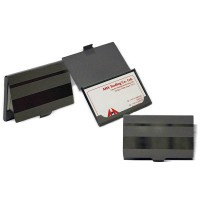 Sliver Metal Business Card Holder