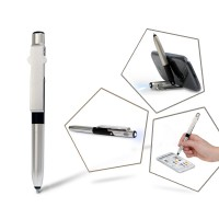 Stylus Pen with Phone Stand & LED Light