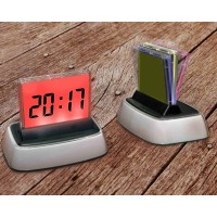 Digital Desk with Calendar  Clock LED Display & Multi Color Wall
