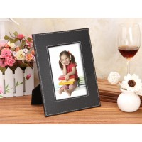 PU Leather Desk Photo frame Customized