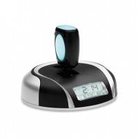 Auto desk clock with perfume