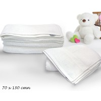 Bath Soft Towel White Color