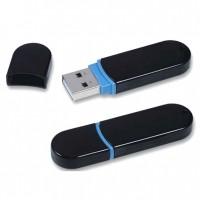 Black Plastic USB Flash Drive